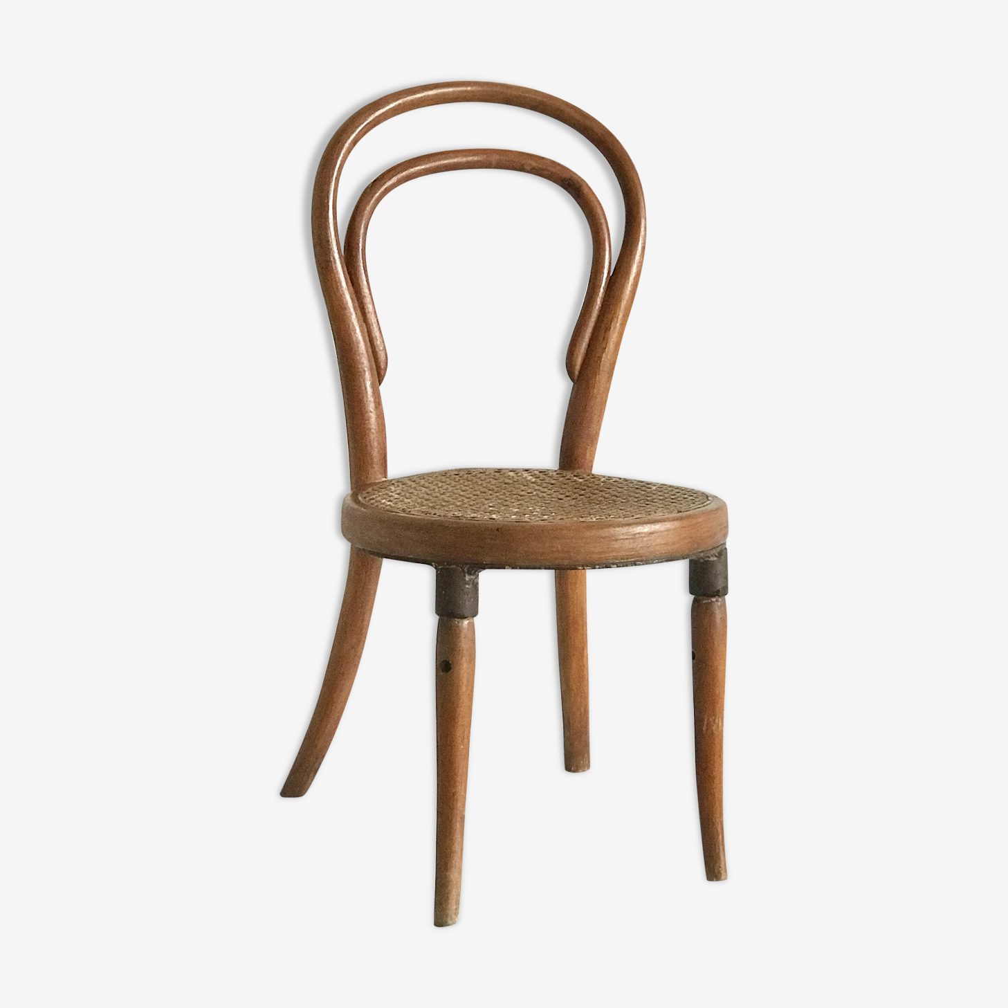 Chaise de bistrot bois courbé Kohn pour enfant