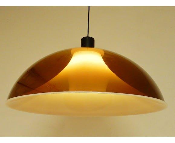 Vintage lamp in perspex