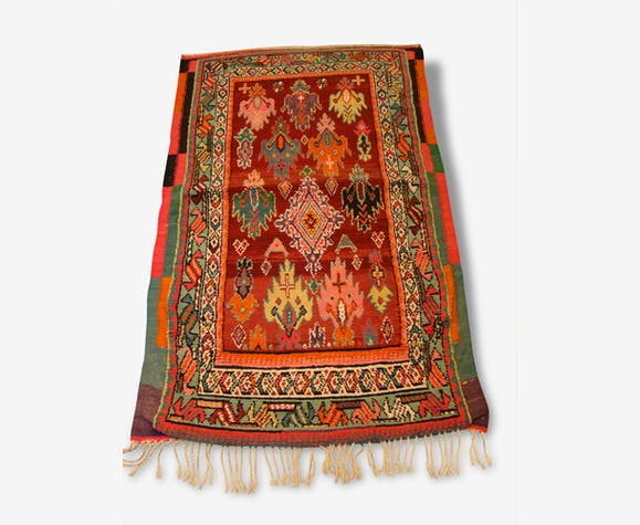 Tapis Ethnique Style Berbere Colore Wool Cotton Ethnic 166600
