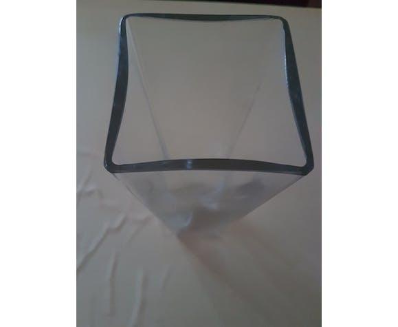 Vase en cristal de Bayel France de Mazolay