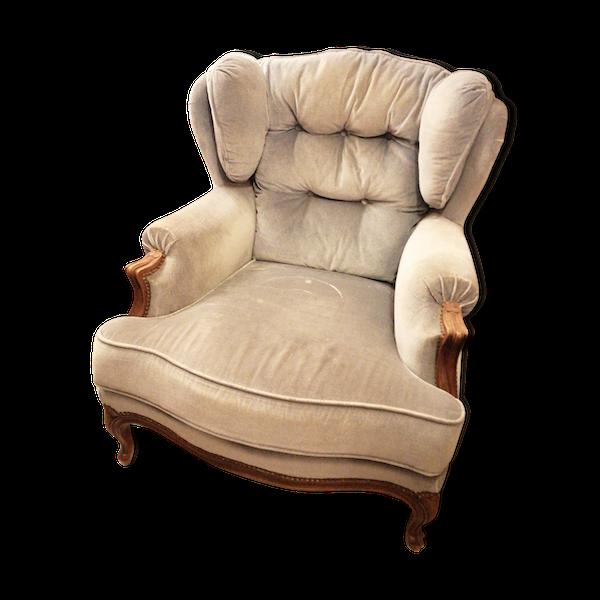 Fauteuil style Louis XV des sièges de Luynes\