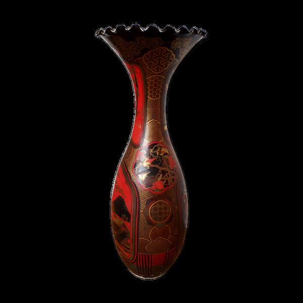 Decoration ceramique-porcelaine-faience rouge