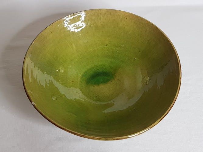 Coupe à fruits en céramique émaillé 30 cm