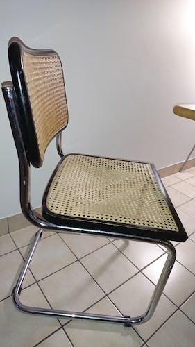 Chaise cesca b32 par Marcel Breuer