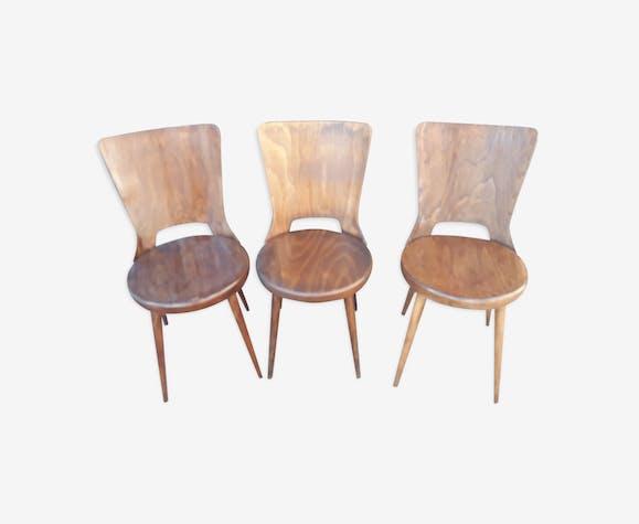 Set of 3 chairs Baumann model Dove