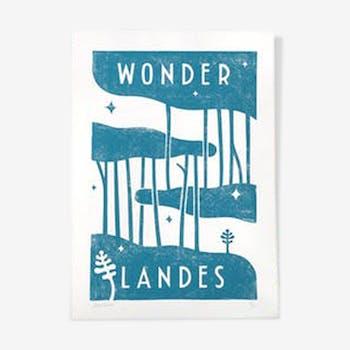Blue wonderlandes