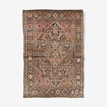Former carpet Persian Sarouk Farahan done hand 103cm x 161cm 1880 s