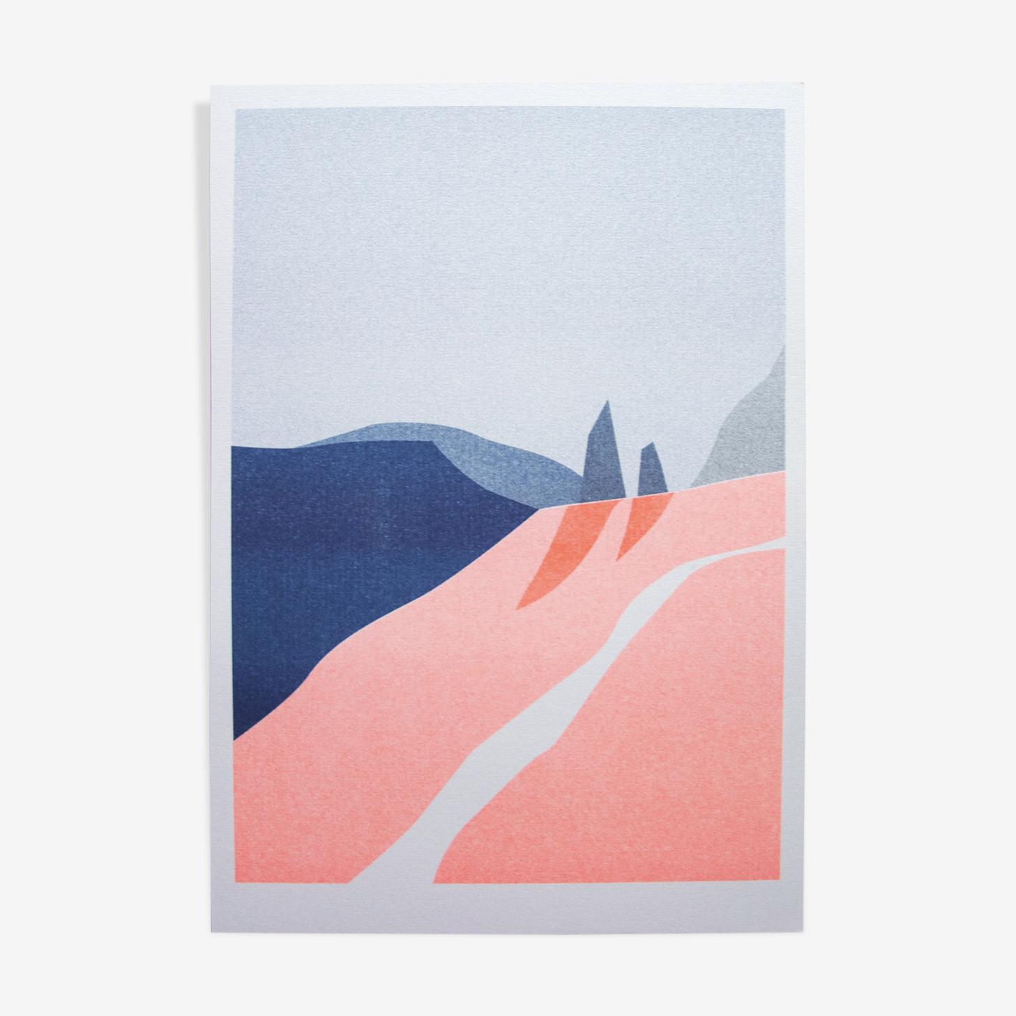 Illustration - paysage A4