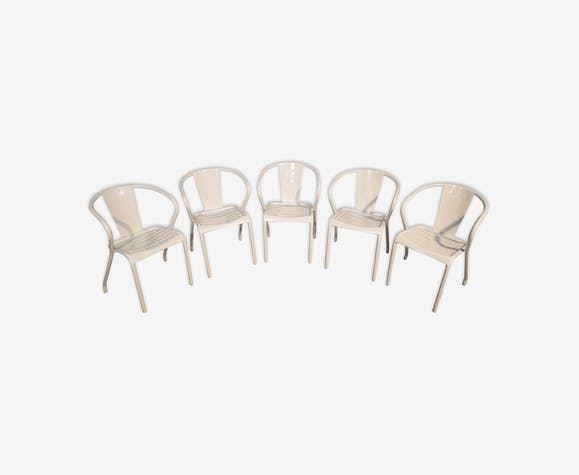 set of 5 FT5 tolix armchairs