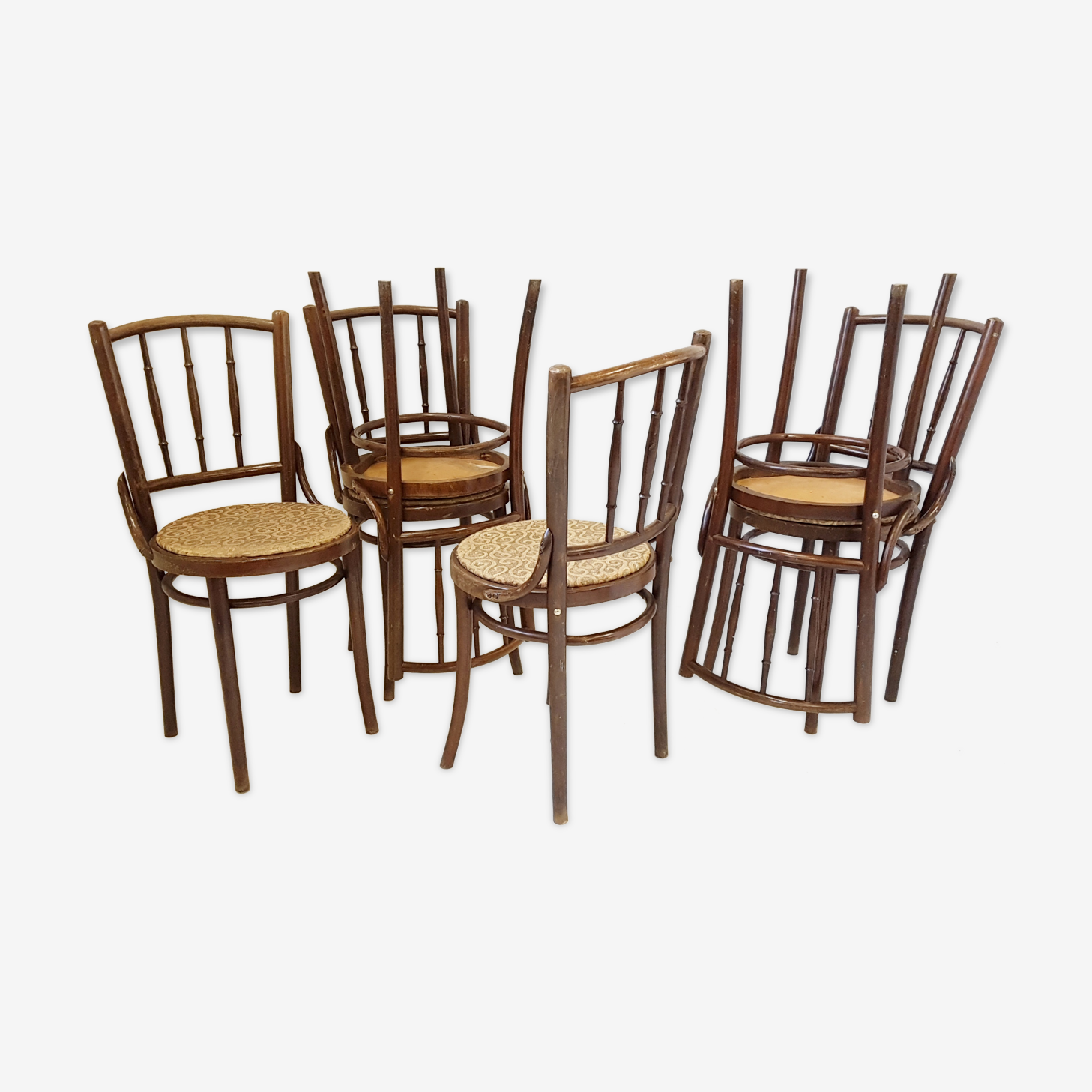 Set of 6 chairs bistro