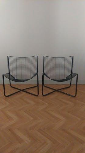 Paire de fauteuils Jarpen par Niels Gammelgaard