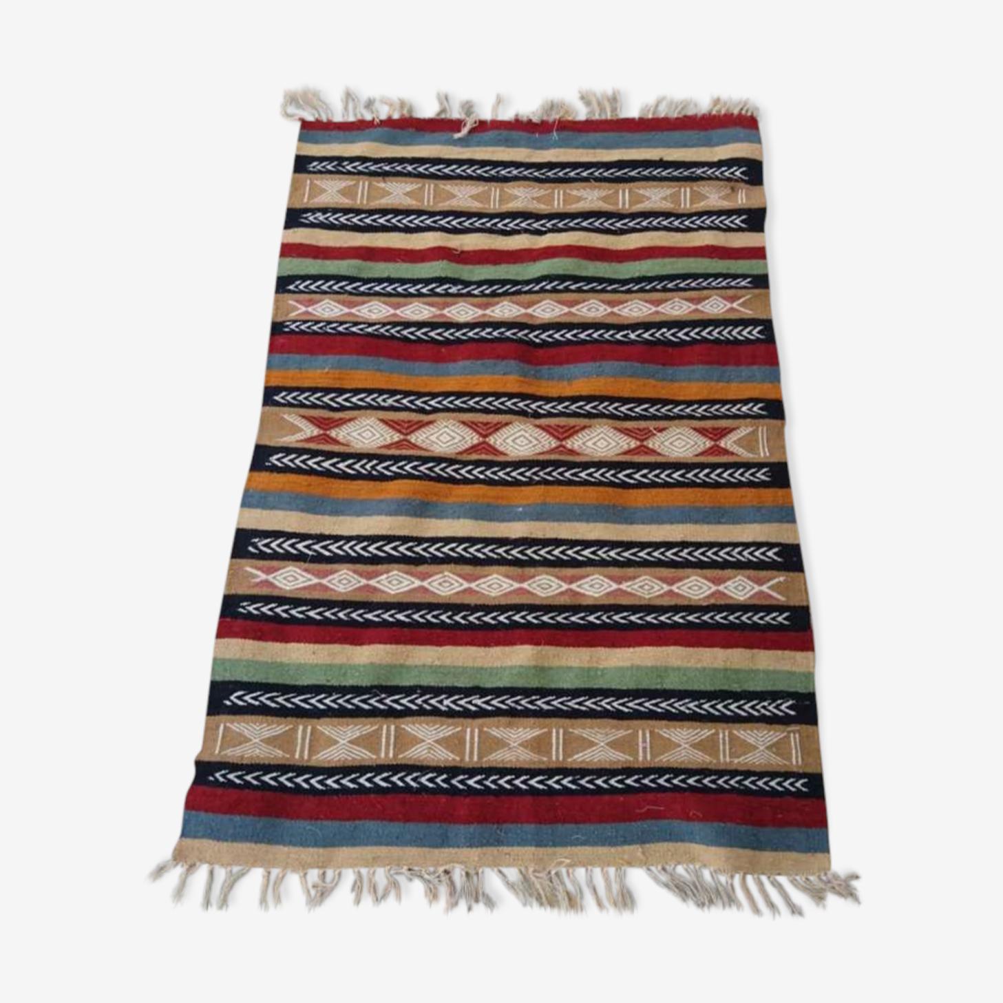 Kilim tapis multicolore 97x144cm