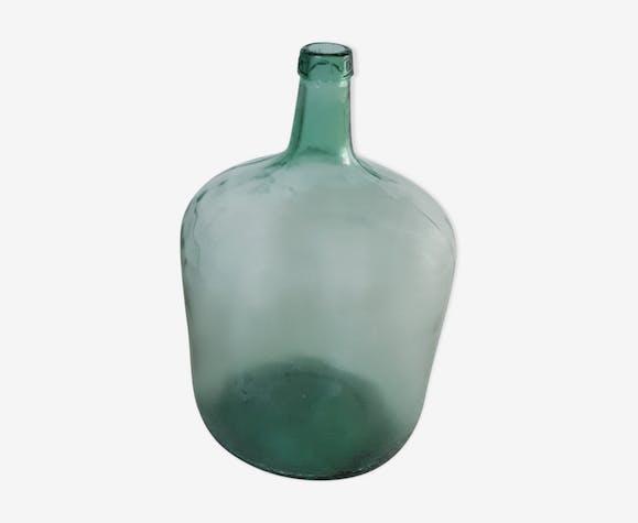 Bonbonne dame-jeanne 10 litres vert bleuté