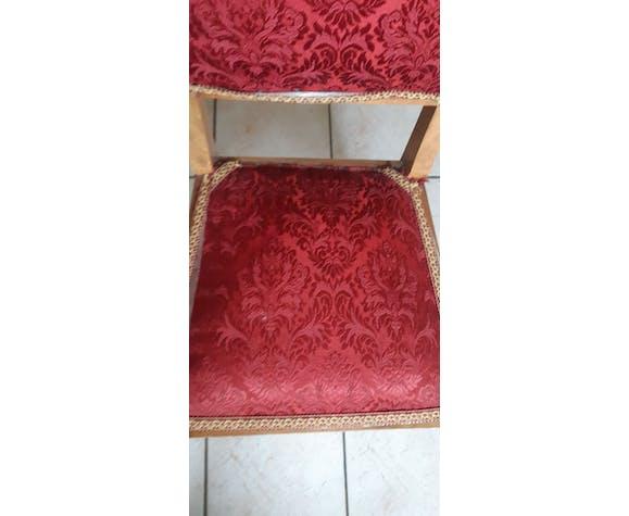 Chaise en tissu