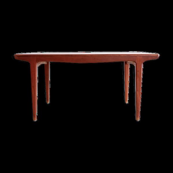 Table scandinave extensible en teck 1960
