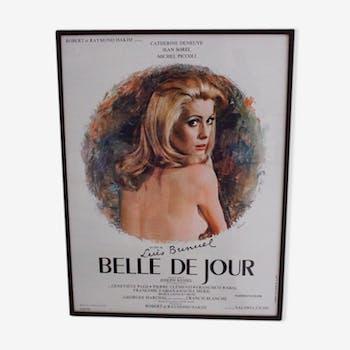 """Affiche originale du film """"Belle de jour"""" (1967)"""