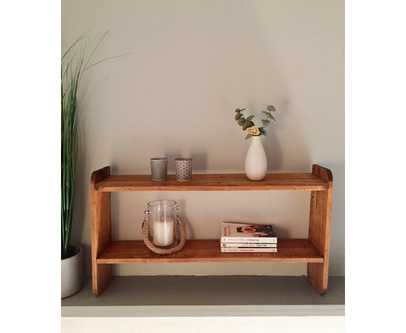 Wooden shelf