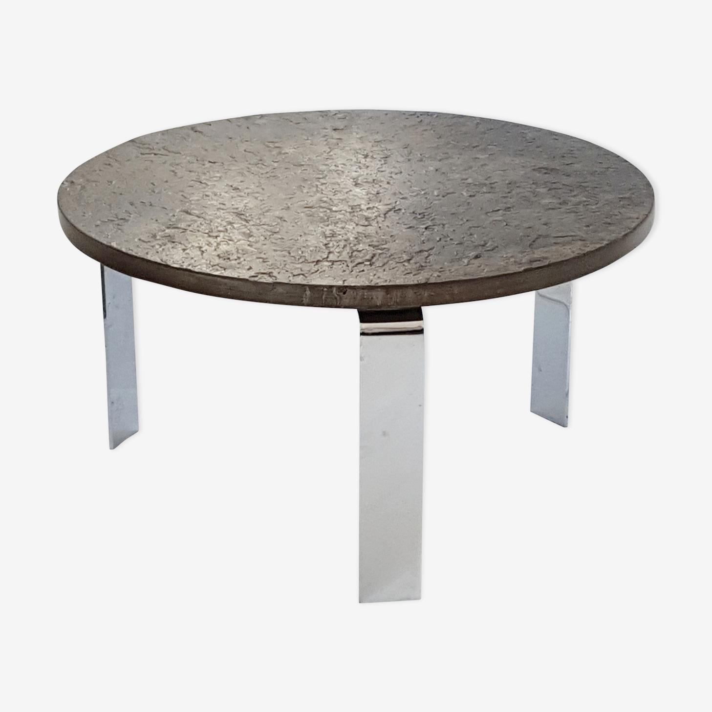 Vintage coffee table by Peter Draenert 1970