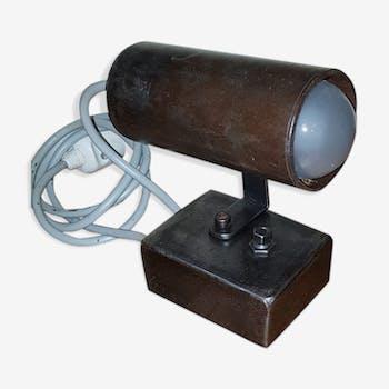 Industrial crude steel lamp