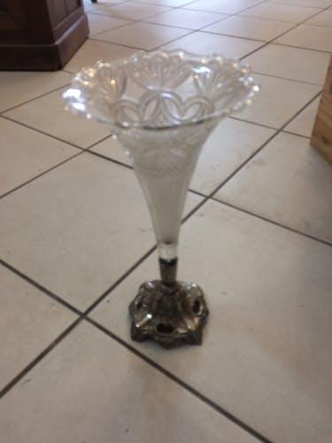 Soliflore en verre