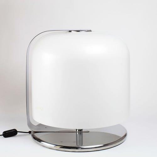 Lampe Alvise XL par Luigi Massoni pour Guzzini Italie 1960's