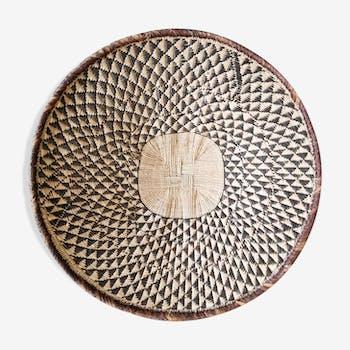 Panier africain en fibre fait main 50 cm