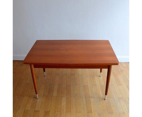 Table scandinave teck 1960