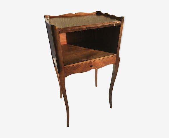 chevet table de nuit style louis xv caisson tiroir. Black Bedroom Furniture Sets. Home Design Ideas