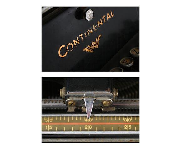 Machine à écrire Continental Circa 1939