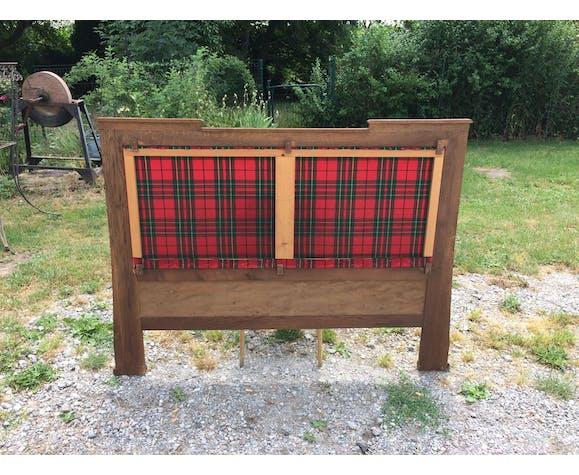 Rustic headof fabrics Scottish style