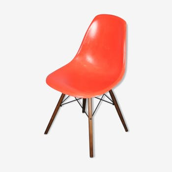 Chaise dsw Charles Eames Herman Miller