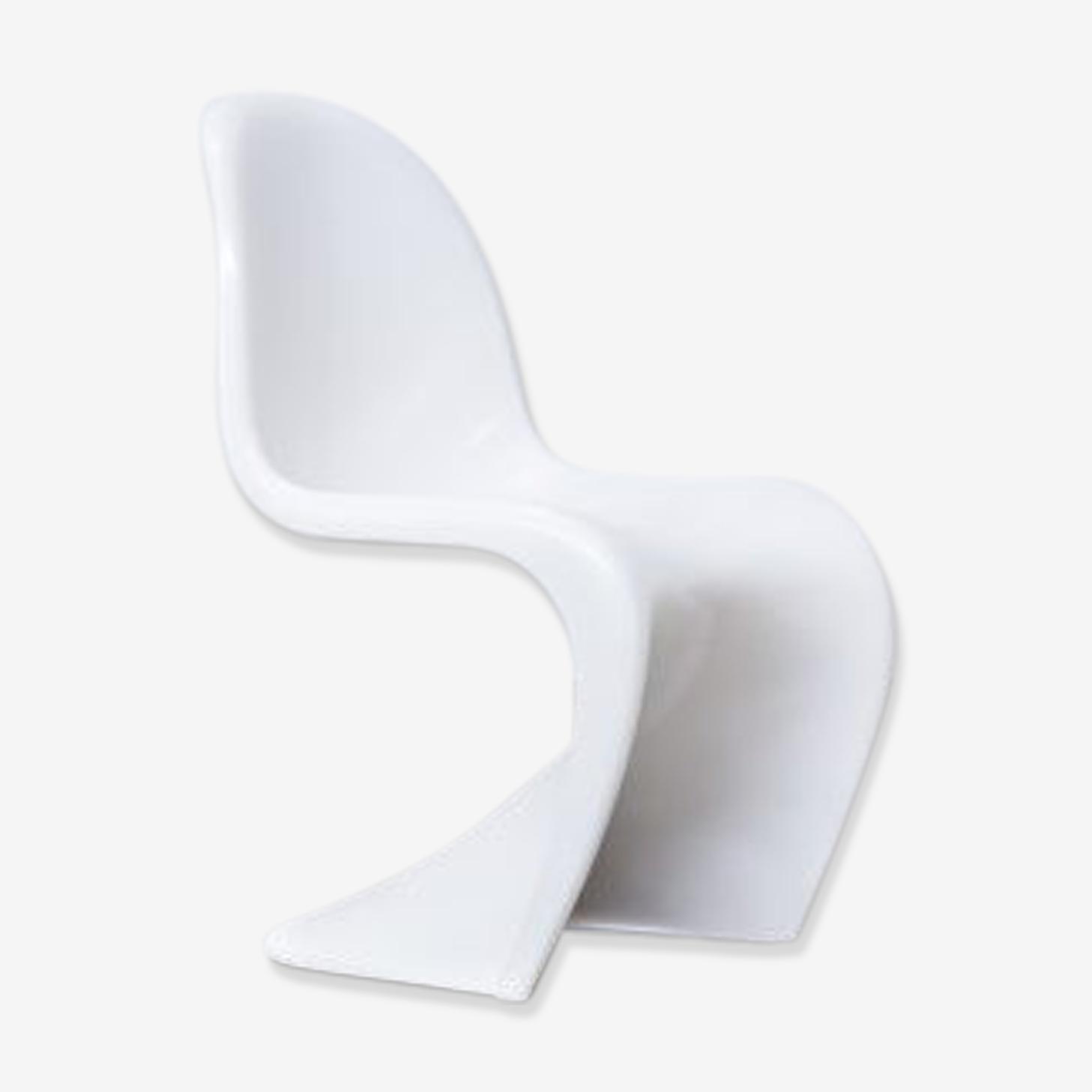 Chaise Verner Panton 'panton chair' pour Fehlbaum Herman Miller