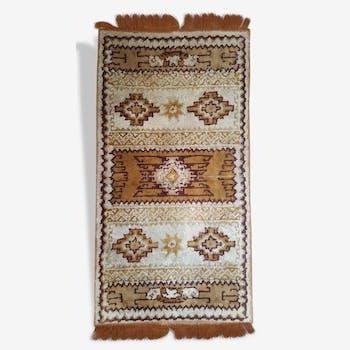 Carpet wool vintage, 122 x 60