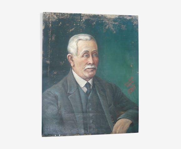 Portrait signé 63 / 50