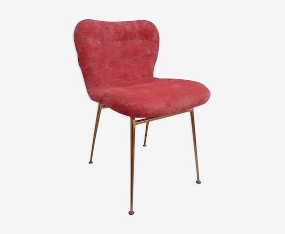 Vintage Tissu Chaise Tcqxmhf Rose De Bureau CoxdrBe
