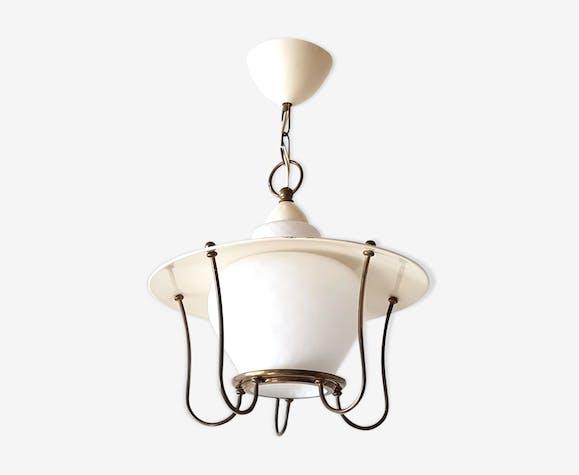 Suspension lanterne 1950 vintage