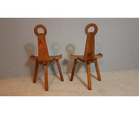 Pair of 1950's chairs