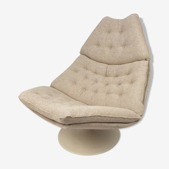 Midcentury F588 lounge chair by Geoffrey Harcourt for Artifort 1960's