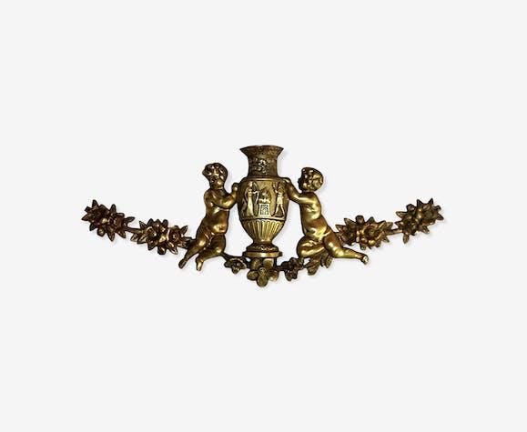 Fronton en bronze du début du XIX ème siècle