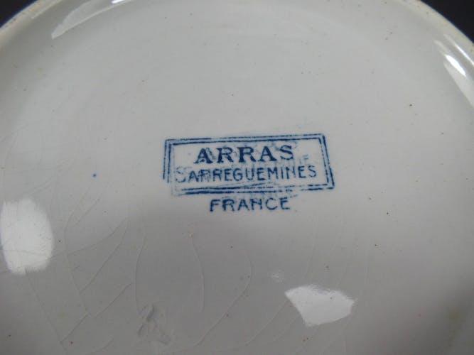 Soupière Arras Sarguemines