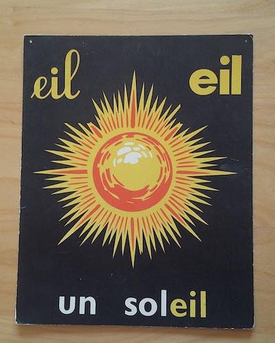 Le soleil image de lecture