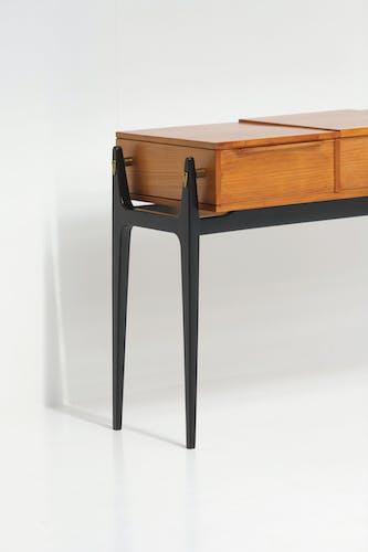 Coiffeuse avec tiroirs, années 50