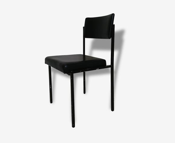 128750 Chaise Bureau De Noir Industriel Strafor Métal iPkuXZ