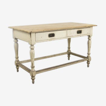 Antique victorian kitchen prep table