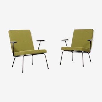 Paire de fauteuils gispen 1407, par Wim Rietveld en 1954