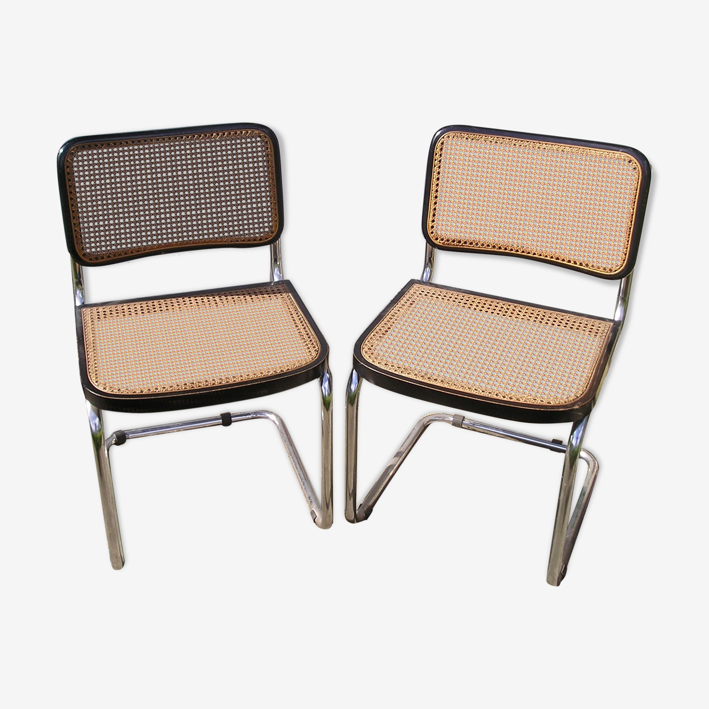 Pair of chairs B32 of Marcel Breuer