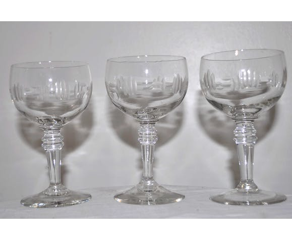 Set of 6 vintage stemware