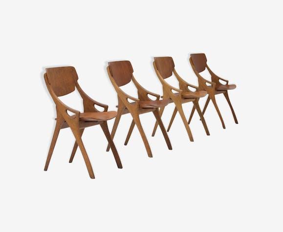 Chaises en chêne par Arne Hovmand Olsen