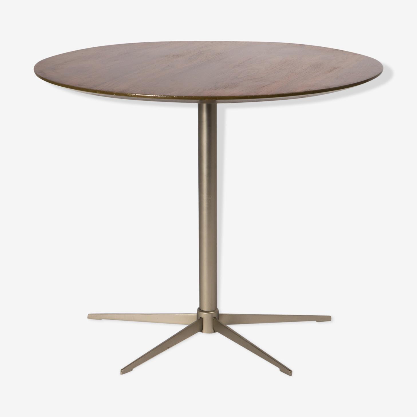 Table top teak base star