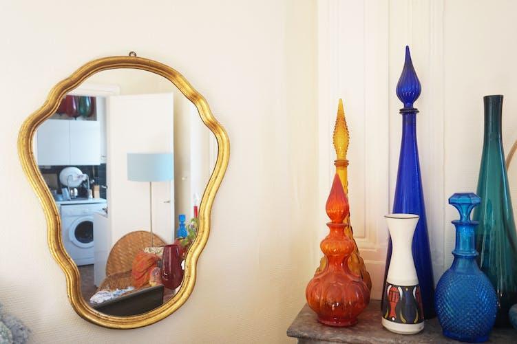 Golden mirror  - 64x49